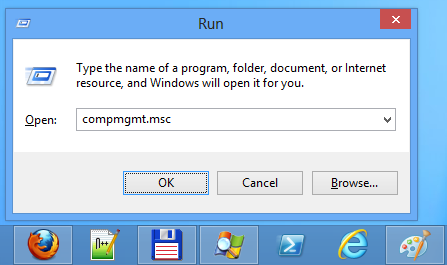Run computer management